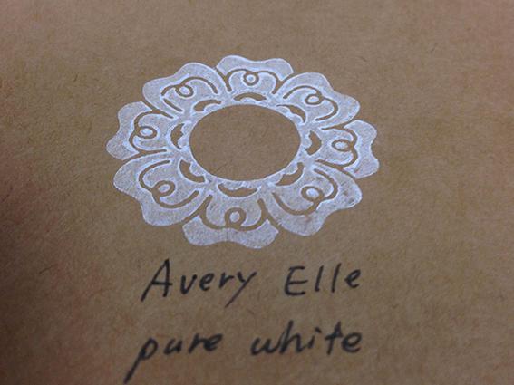 Avery Elleでおしたもの