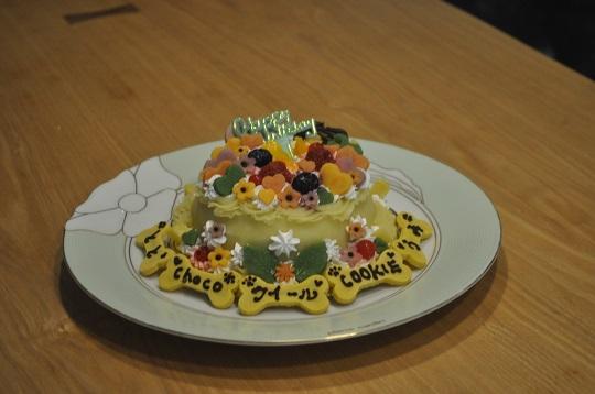 合同誕生日会ケーキ
