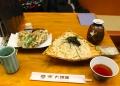 水沢うどんと舞茸の天ぷら 大澤屋