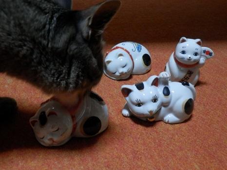 猫の陶器2