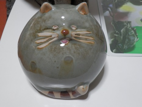 猫の陶器5