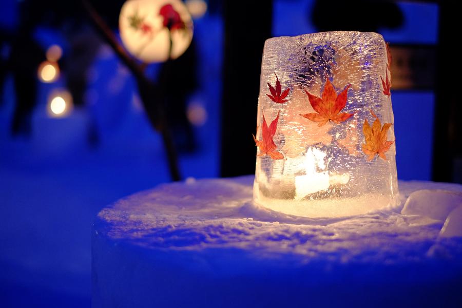 小樽雪灯りの路7