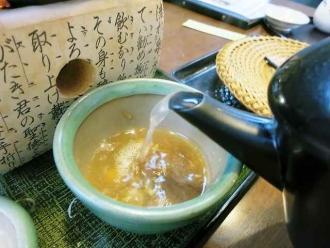 14-2-19 蕎麦湯