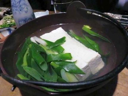 14-4-24夜 湯豆腐