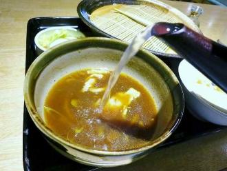 14-7-23 蕎麦湯