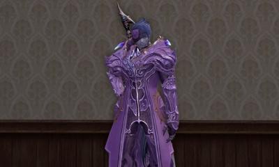 グリゴールとか何かそこらへんの紫染め。