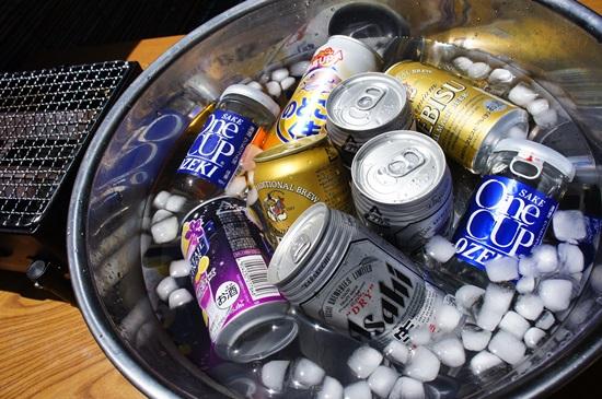 ビール冷やして