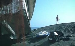 再び、マリ子と出逢った海で