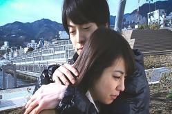 ユノを抱きしめるユキテル