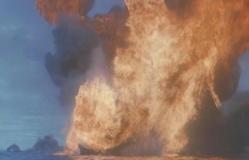 大爆発する大和