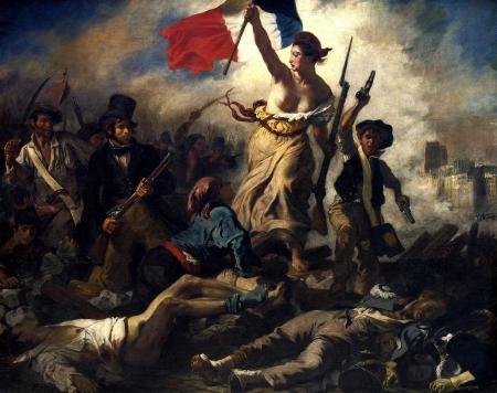 Delacroix_-_La_liberté_guidant_le_peuple - コピー