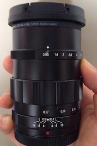 NOKTON 25mm F095