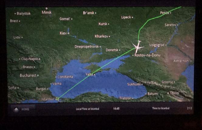 ウクライナ上空回避4