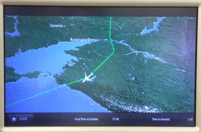 ウクライナ上空回避7