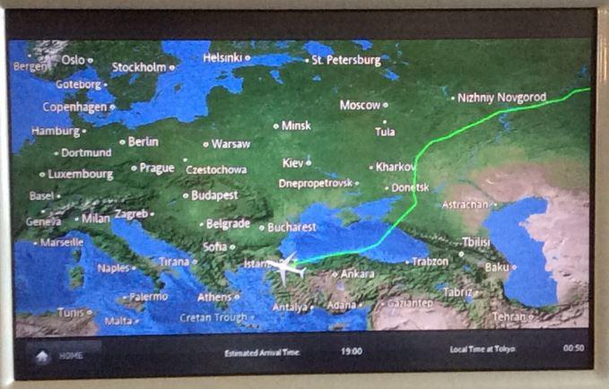 ウクライナ上空回避8