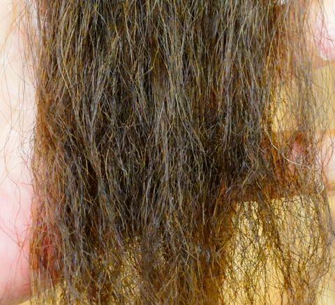 ストレートパーマ チリチリ ジリジリ毛