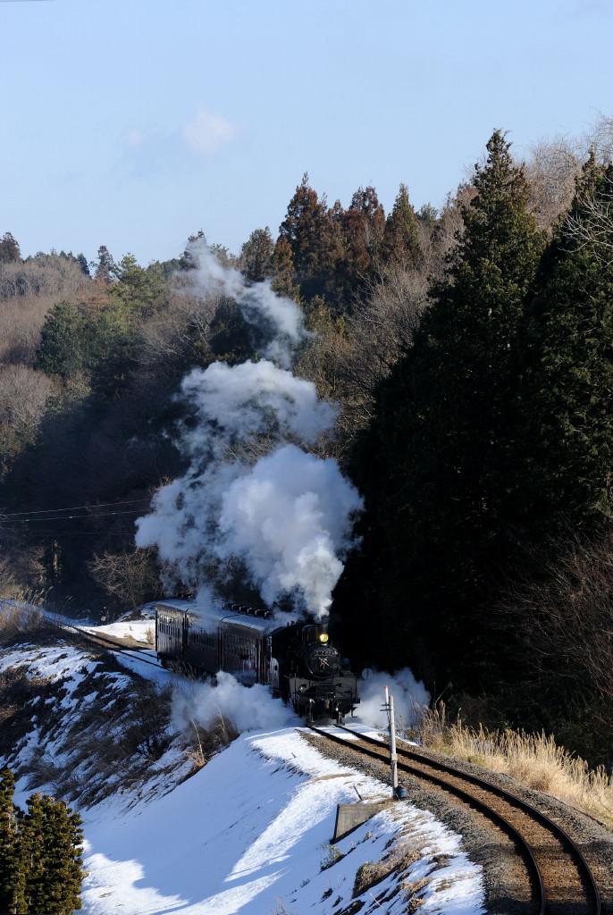 真岡鉄道 C1266 天矢場サミット