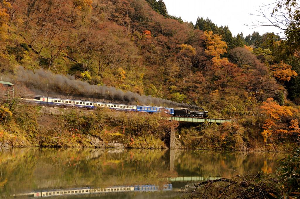 磐越西線 C57180 徳根