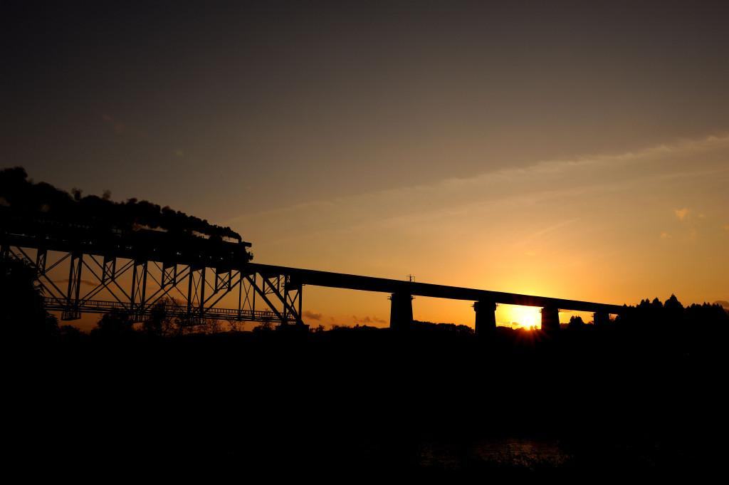 磐越西線 C57180 一の戸橋梁