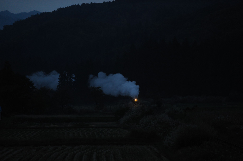 磐越西線 C57180 上野尻オーバークロス