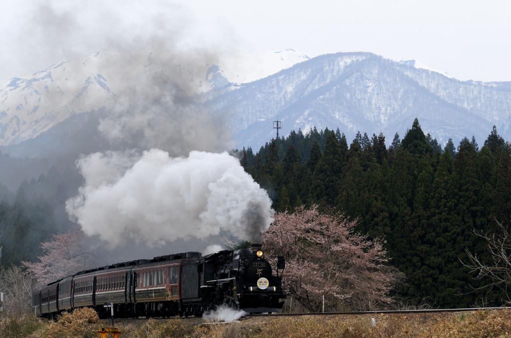 磐越西線 C57180 上野尻