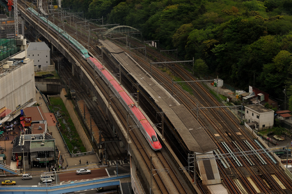 東北新幹線 E6+E5系  北とぴあ