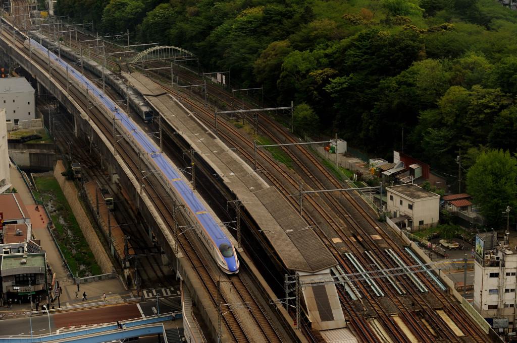 長野新幹線 E7系  北とぴあ