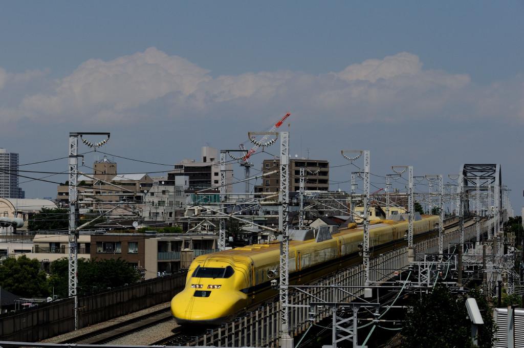 東海道新幹線 ドクターイエローT5編成  西馬込跨線橋
