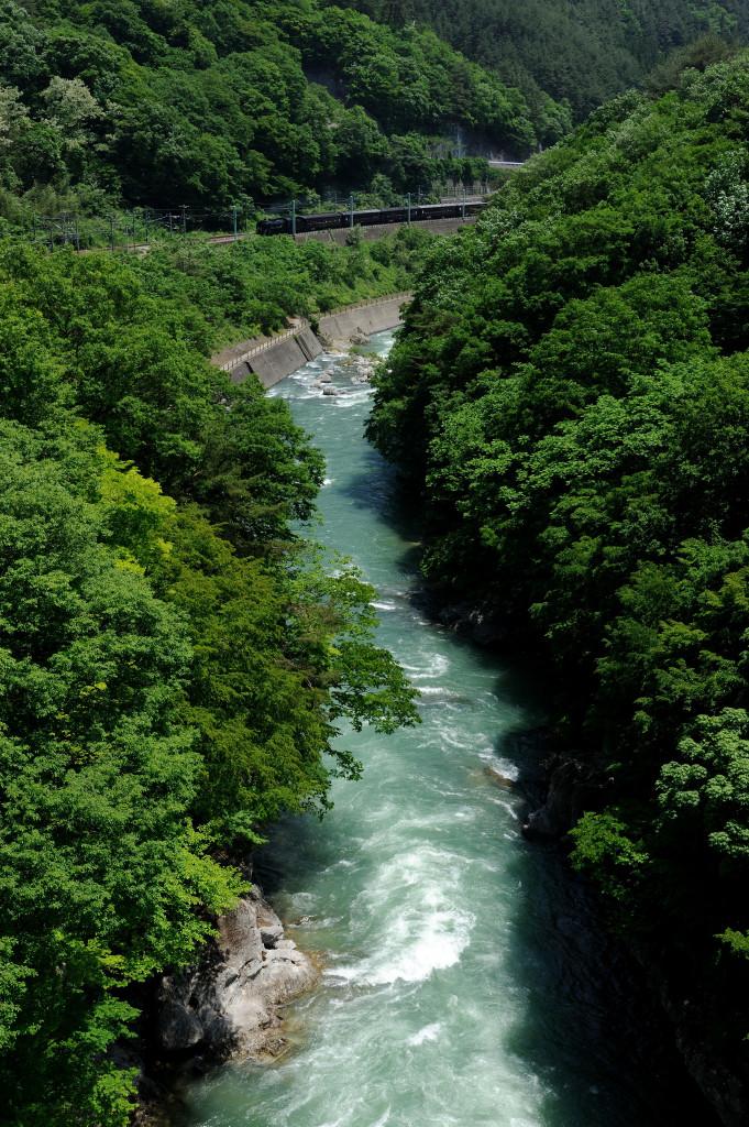 上越線 D51498 諏訪峡