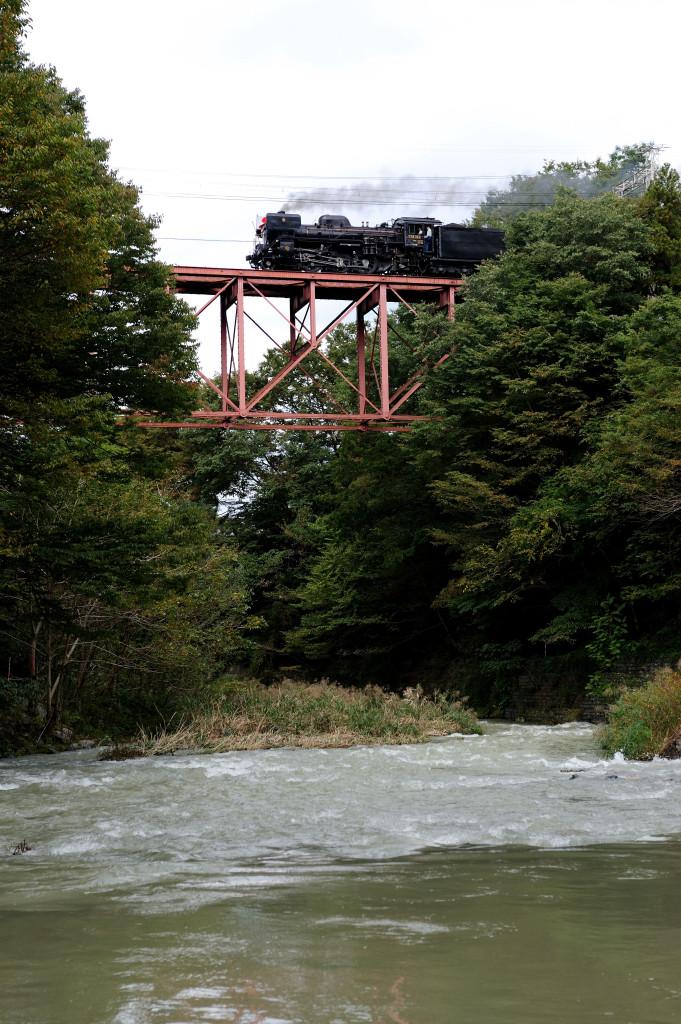 秩父鉄道 C58363 橋立川キャンプ場