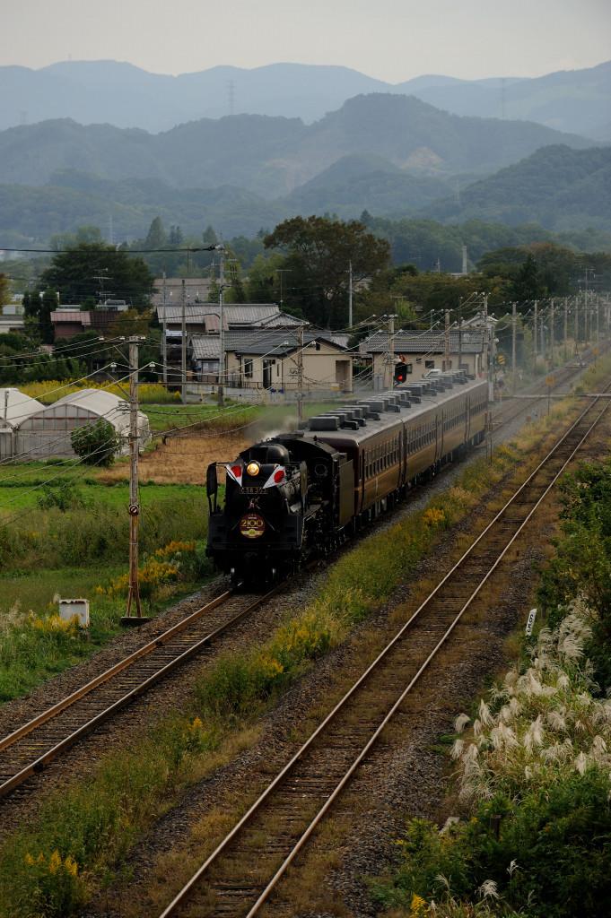 秩父鉄道 C58363 寄居国道アンダークロス