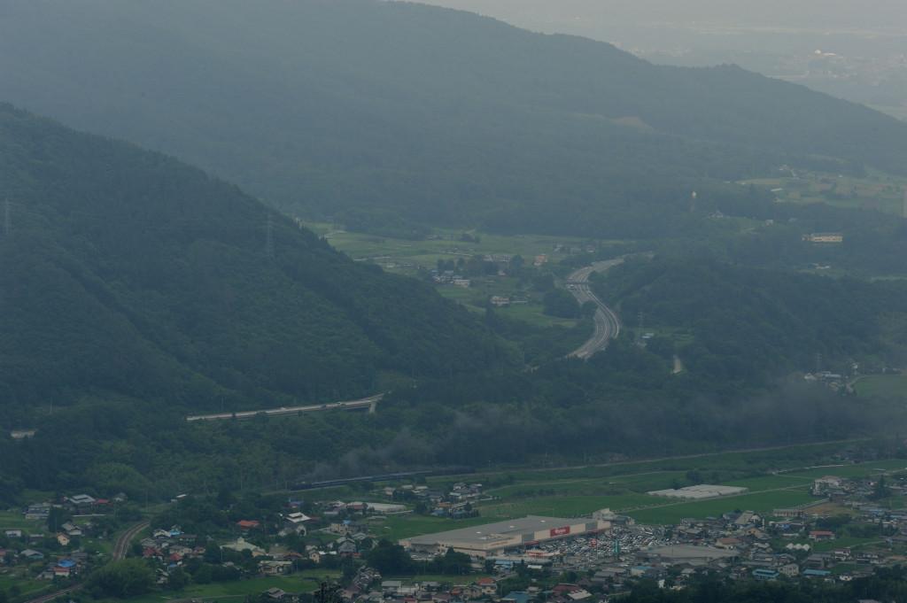 上越線 C6120&D51498 大峰山俯瞰