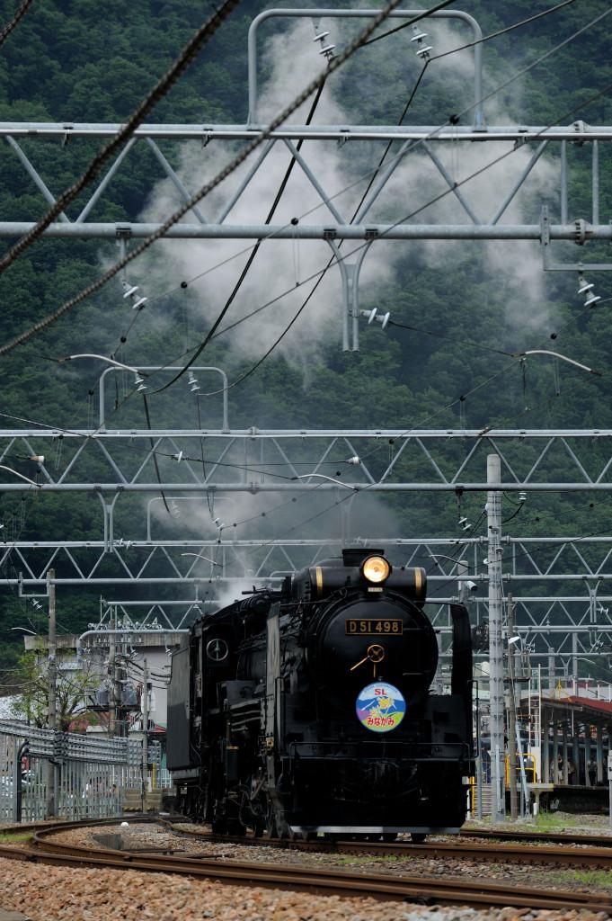 上越線 D51498 水上駅