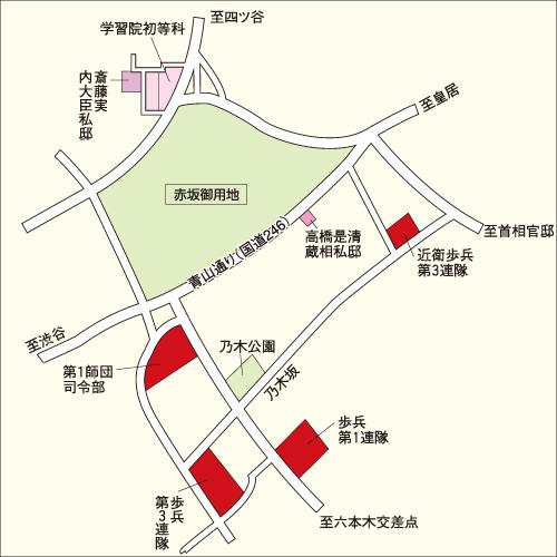 東宮御所周辺地図