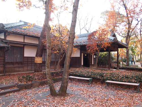 小金井公園内にある「歴史たてもの園」に移設された蔵相私邸