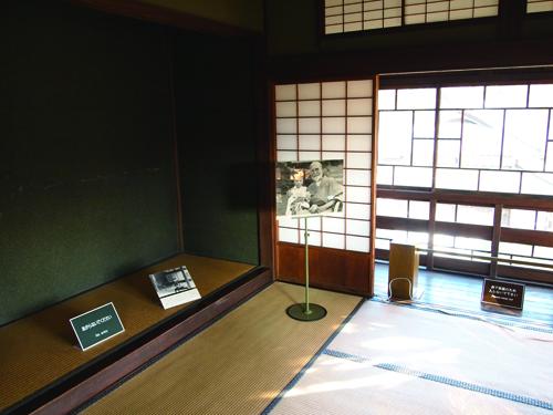 「歴史たてもの園」に移設された蔵相私邸内部