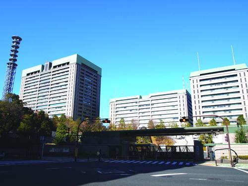 陸軍士官学校跡  現在は防衛省 (新宿区)