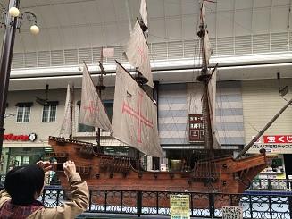 帆船とまちさん