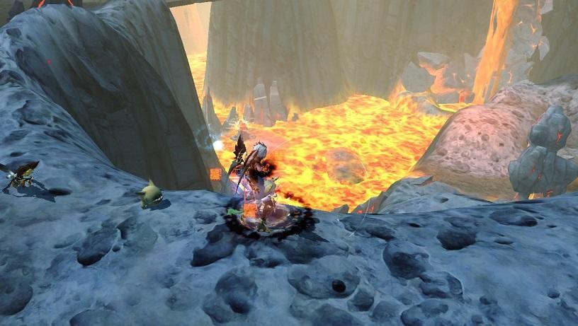 火炎の渓谷