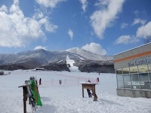 スキー日和の・・・・