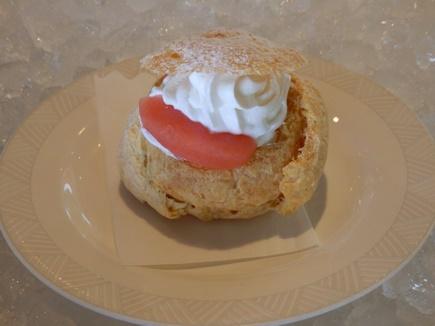 紅玉リンゴのシュークリーム