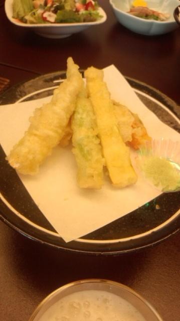 ねまがり竹の天ぷら