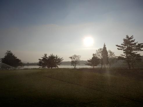 暑い・・・高原の朝