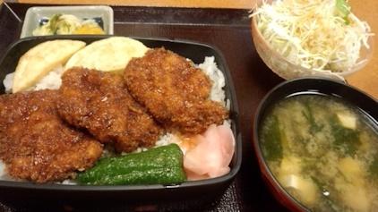 ヒレ ソースかつ丼