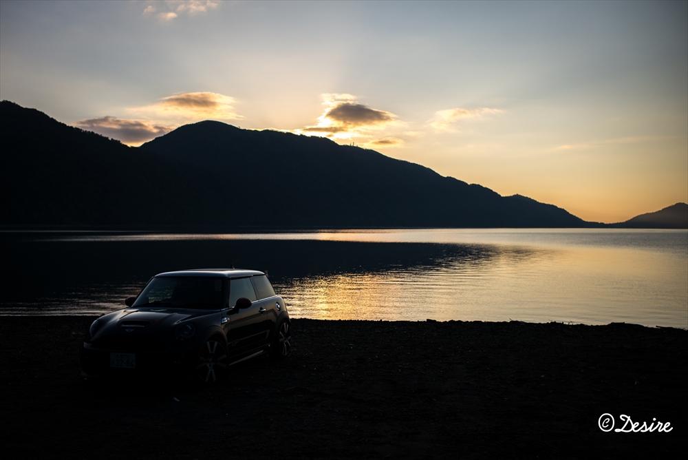 支笏湖の朝3 MINI