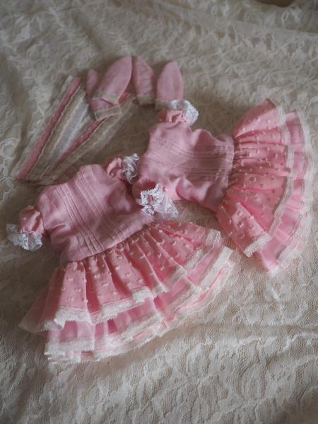 受注ドレス ピンク 1
