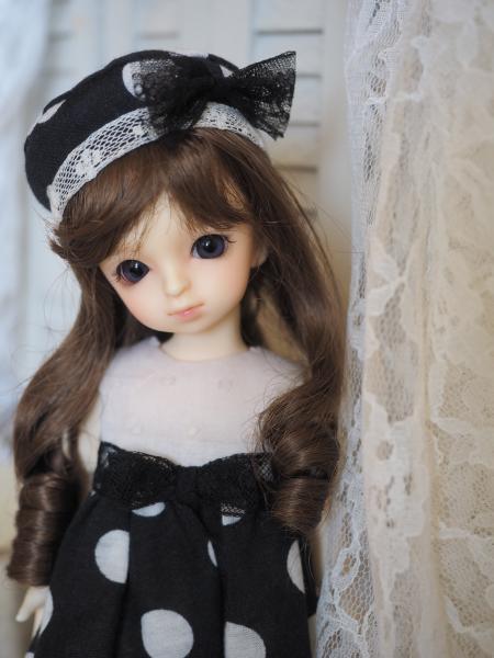 幼SD 「春のお散歩」 黒水玉 3