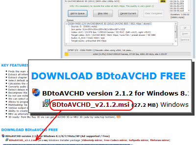 BDtoAVCHD ダウンロードページ