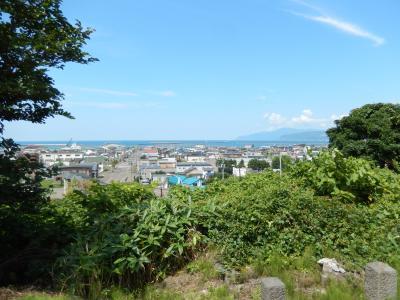 東山から望む日本海