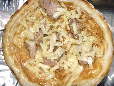 ピザレボの「照り焼きチキン」 焼く前